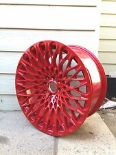 "17"" RED  MESH ALLOY 8J FIT FORD FIESTA VW GOLF TOYOTA HONDA BMW  MINI"