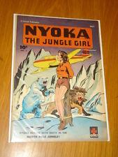 NYOKA THE JUNGLE GIRL #7 VF (8.0) 1946 MAY BONDAGE COVER FAWCETT*