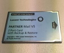 Lucent Partner Mail VS 2 Port Expansion Card 50A Memory Card 108344268 Fast Ship