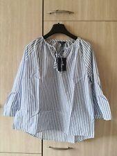 Gant Bluse mit Seide und floralem Muster Damen Bluse Lila NEU