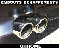 CHROME EXHAUST TIPS TAIL PIPE MUFFLER for BMW E60 E61 SERIE 5 03-2010 71mm M M5