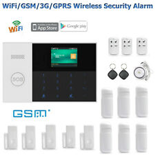 Security Alarm Home & House RFID Card Burglar Alarm System Android IOS APP Wifi