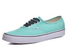 7d8cf2e147c VANS Authentic Skate Shoes Men s Biscay Green true White Size 11.5