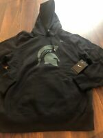 NWOT Nike Men's Michigan State Spartans Hooded Sweatshirt Size Medium