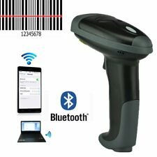 Wireless Bluetooth Barcode Scanner 2 in 1 Barcode Reader For Apple iOs Android