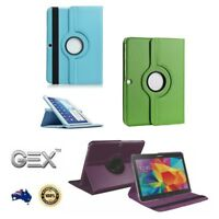 New 360 Rotating Flip Leather Stand Tab Case Cover For Samsung Galaxy Tab 4 T530