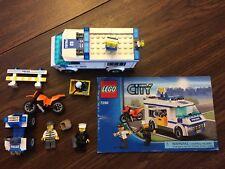 Lego Town City Police Set 7286 Prisoner Transport 100% Plus Bonus 4 Wheeler ;D