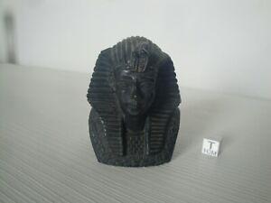 Statua Busto Mezzobusto Faraone Egitto egiziano egizio scultura in resina