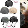 Military Tactical Airsoft Paintball Protective Helmet Riding Headwear durable