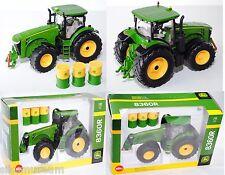 SIKU FARMER 3272 John Deere 8360r Tracteur Avec 3 fûts, 2012 1:32