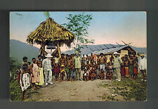 Mint German New Guinea BW RPPC Postcard Papua Missionaries and Natives