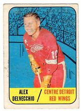 1X ALEX DELVECCHIO 1967 68 Topps #51 GVG Red Wings