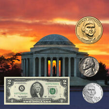 Thomas Jefferson Coin & Currency Set
