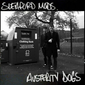 SLEAFORD MODS AUSTERITY DOGS NEW SEALED LTD COLOURED VINYL LP REISSUE IN STOCK