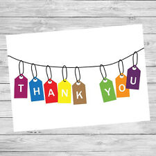 10 X Thank You Cards Postcards Any Occasion Ready to Write on Back