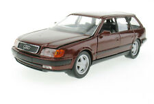 SCHABAK 1055 - Audi 100 Avant C4 - braun-rot metallic - 1:43 in OVP /Box Model