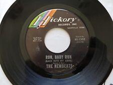 "THE NEWBEATS - Run, Baby Run / Mean Woolly Willie 1965 POP ROCK 7"" Hickory"
