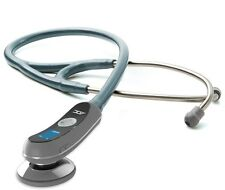 NEW ADC Adscope Model 658 Electronic Digital Stethoscope METALLIC CEIL BLUE