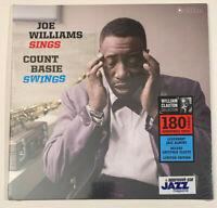 """Joe Williams Sings, Count Basie Swings Vinyl Record 12"""" Sealed"""