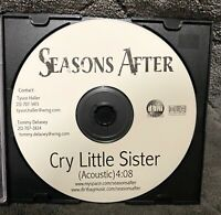 Audio CD - SEASONS AFTER - Cry Little Sister Acoustic Single DJ Promo - NEW
