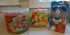 Mr. Potato Head lot: Spud Bunny 2007, Spud Buds 2006, Spring Basket, Easter