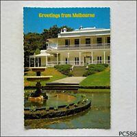 Melbourne Greetings Como House Postcard (P586)