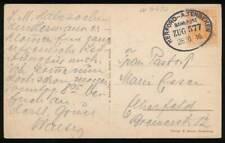 278746) DR Bahnpostblg. Herford- Altenbeken 1916