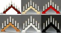 Candle Bridge Light 7 Bulb Window Christmas Decoration Arch Bridge Light