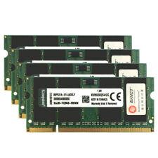 8GB Kit 4x 2GB DDR2 533MHz KVR533D2S4/2G 1.8V PC2-4200S SODIMM RAM For Kingston