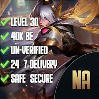 NA League of Legends Smurf Account NA 45-70k+ BE Unverified&Unranked Level 30