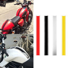 1 x 50cm Motorcycle Tank Cowl Vinyl Pinstripe Decal Sticker For Cafe Racer