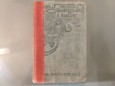 Pinocchio The Adventures of a Marionette 1904 Vintage Once Upon a Time Series HC
