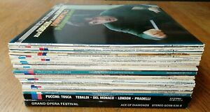 JOB LOT/COLLECTION OF 32 x DECCA CLASSICAL QUALITY VINYL RECORDS ALL NEAR MINT