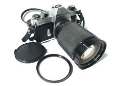 Asahi Pentax spotmatic f SPF, soigor m42 mc Zoom + Macrom 3,5-5,3/28-200 mm l15