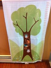 Wonderful Woodlands Growth Chart Fabric Panel Wilmington Prints