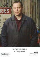 Ricky Groves ( Eastenders )Signed Gary Hobbs Cast Card