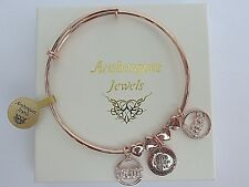 DESIGNER LOVE, MUM & HEART CHARM BANGLE/BRACELET GENUINE MI STERLINA MILANO AJAA
