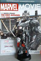 MARVEL MOVIE COLLECTION #64 War Machine Figurine (Captain America: Civil War) de