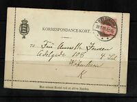 Denmark - 1905 - Letter Card (Entire) Used - 091717