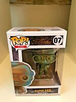 STAN LEE PATINA TRIBUTE FUNKO POP ICONS 07 MARVEL CREATOR BRAND NEW