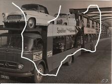 18x13 Film Stand Foto 1959 Eddie Constantine Skoda 450 Mercedes L321 still photo