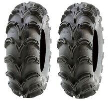 2 New 8x12x25 25x8-12 Rokon Ranger Scout Trail Beaker ATV Bike Mud Lite Tires