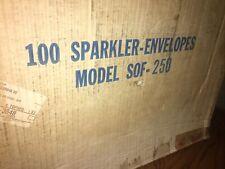 80 Sparkler Grease Envelope Filter Paper 175 X 195 34 Hole Fryers Sof 250