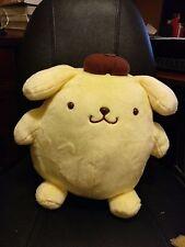 "NEW RARE BIG 10""-12"" Japan Sanrio Pom Pom Purin Plush Stuffed Pompompurin Toy"