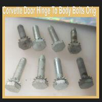 Corvette 1957 1958 1959 1960 1961 1956 1962 Door Hinge Bolts To Body Original 8