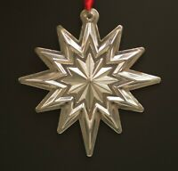 "LUNT STERLING SILVER 2006 ANNUAL STAR ORNAMENT 3""  MIB LIMITED ED"