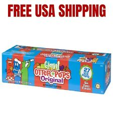 Otter Pops Fast Freeze King size Ice Bars, 5.5 oz 27 count - Free Shipping