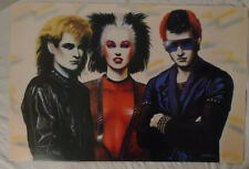 King Of The Road 1985 Poster Athena London Road Warrior Punks