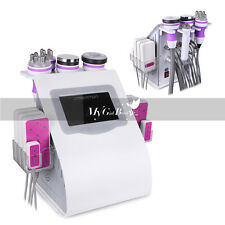 Ultrasonic Cavitation 6in1 RF Radio Frequency Vacuum Anti Cellulite Machine Spa