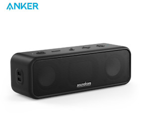 Anker SoundCore 3 Portable Bluetooth Wireless Speaker Better Bass 24H Playtime